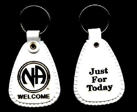 White Key Tag >> Narcotics Anonymous Keytags Chips And Fobs
