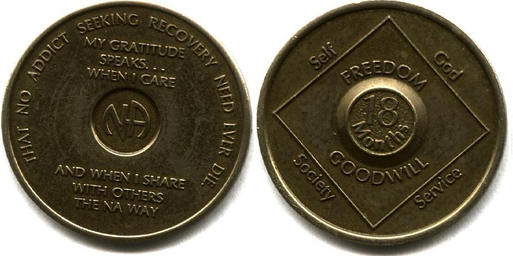 18 month medallion